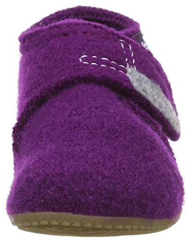 Living Kitzbühel Velcro Uni, Chaussures Bébé Fille Rose - Pink (Petunie 369)