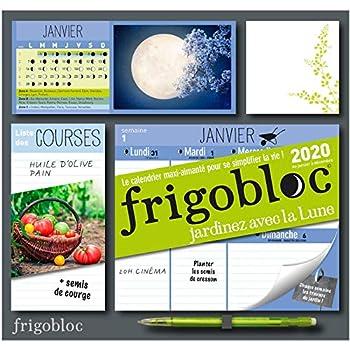 Frigobloc Jardiner avec la lune 2020 - Calendrier d'organisation familiale (de janv. à déc. 2020): S'organiser n'a jamais été aussi simple !