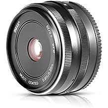 Meike mk-28-2,8 28 MM F/2,8 Fixed Manueller Fokus Objektiv für M4/3 APS-C spiegellose Kamera