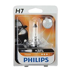 Philips Vision H7 1x12V 55W Scheinwerferlampe Ersatzlampe Hauptscheinwerfer Auto