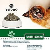Frostfutter Nordloh Schafpansen 20x 500g, tiefgefrorenes Barfpaket für Hunde- und Katzen