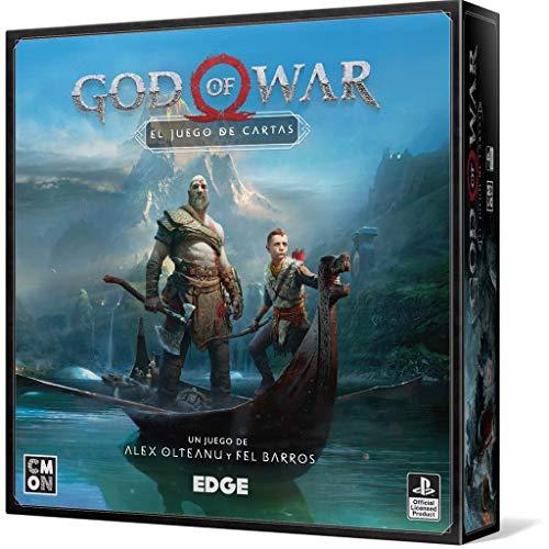 Edge Entertainment- God of War - Juego Mesa - Español