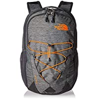 The North Face, Jester, Zaino, Unisex - Adulto, Grigio (TNF Dark Grey Heather/Persian Orange), Taglia Unica