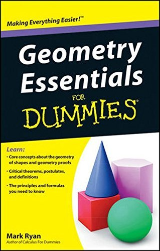 Geometry Essentials For Dummies by Mark Ryan (2011-06-07)