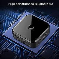 starter Bluetooth Empfänger und Sender - 2 in 1 Bluetooth Audio Empfänger 3,5 mm Aux Adapter, aptX Niedrige Latenz für TV Home Car Stereo System Wireless Sender Empfänger