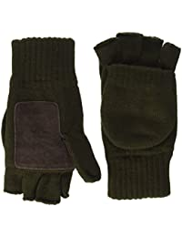 Highlander Falher Gloves/Mitts ― 100% Acrylic ― Quality Thinsulate™ Lining ― Available in Black and Olive Green ― Small, Medium, Large and Extra Large ― Great for Walking, Hiking, Shooting