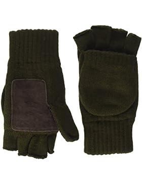 Highlander - Guanti imbottiti lavorati a mano Falher Warm, verde (verde oliva), medium