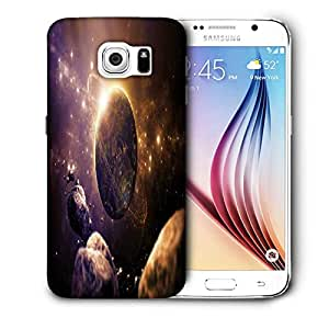 Snoogg Abstract Planet Printed Protective Phone Back Case Cover For Samsung Galaxy S6 / S IIIIII