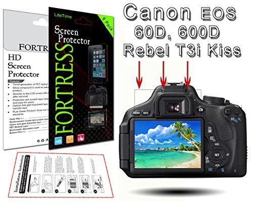 Fortress 0849145027899 Canon 600d Rebel Kiss - Best Price