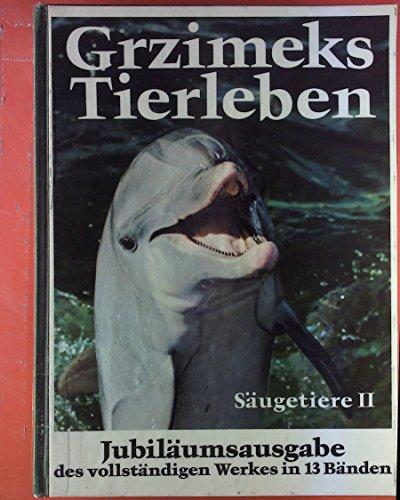 Grzimeks Tierleben 11. Säugetiere II: Schimpansen - Menschen - Riesengleiter - Fledertiere - Zahnarme..., Jubiläumsausgabe