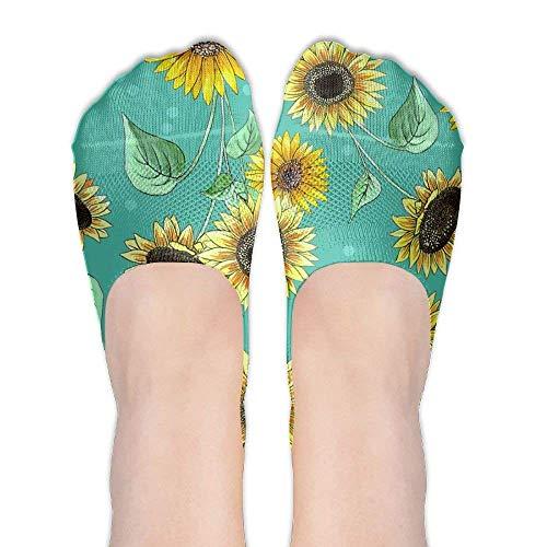 HTETRERW Rose Sunflower Women's Black Friday Breathable Low Cut Short Boat Ankle Socks (Herren Low-cut-socken Champion)