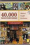 Produkt-Bild: 40.000 Meisterwerke. 2 DVD-ROMs