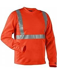 Blakläder 338310115300x XXL Langarmshirt Klasse 2Größe XXXL Orange