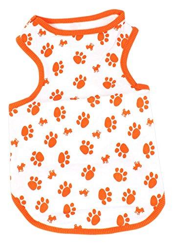 sourcingmap Sleeve Pet Dog Puppy Tank Top Shirt -