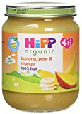Hipp Organic BananaPear and Mango, 125 g (Pack of 6)