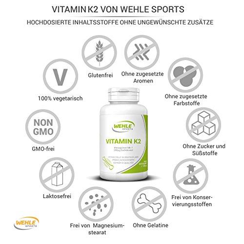 Zoom IMG-3 vitamina k2 mk7 k2vital 365