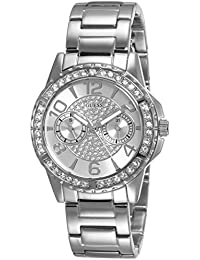 Guess Damen-Armbanduhr Ladies Sport Analog Quarz Edelstahl W0705L1