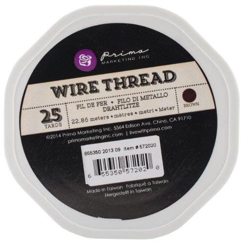 Wire Thread 25Yd-Brown