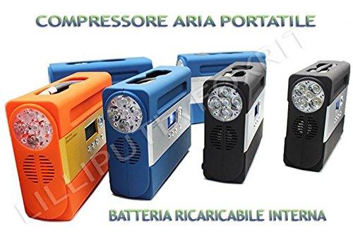 Preisvergleich Produktbild Kompressor Luft Notebook A Akku 12 V Li-Ion Akku Taschenlampe und Ausgang 5 V