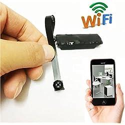 Electro-Weideworld P2P Wifi Oculta Cámara Espia inalámbrica DIY Module Espia Nanny Cam Mini Cámara de Vigilancia para iPhone Android App Vista Remota