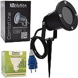 Evolution Gartenstrahler GU10 inkl. 3,5W SMD LED Aussenstrahler 1er Set