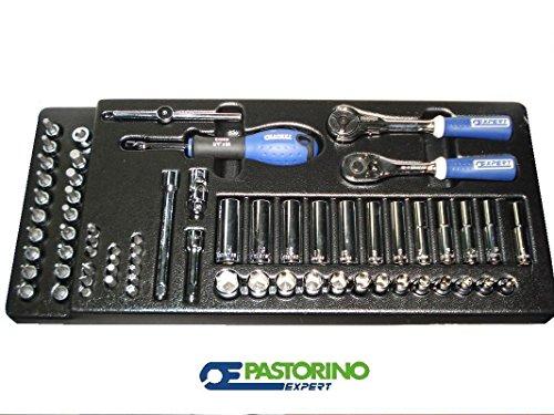 ASSORTIMENTO BUSSOLE 1/4' KIT BUSSOLE 1/4' PER CARRELLO PASTORINO EXPERT E030715