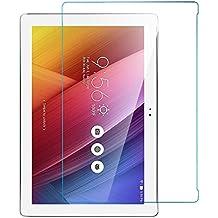 iBetter ASUS ZenPad 10 Z300C 10.1 inch Protector de Pantalla Cristal Vidrio Templado para ASUS ZenPad 10 Z300C 10.1 inch Tablet,transparente