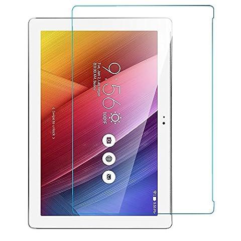 ASUS ZenPad 10 Z300C 10.1 inch Protecteur d'écran,iBetter ASUS ZenPad 10 Z300C 10.1 inch Film Protection en Verre Trempé écran protecteur ultra résistant Glass Screen Protector pour ASUS ZenPad 10 Z300C 10.1 inch Tablet