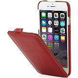 "StilGut UltraSlim Case, Hülle aus Leder für Apple iPhone 6 & iPhone 6s (4.7""), rot"
