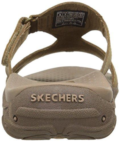 Skechers Reggae Trench Town scorrere Sandalo Desert Crazy Horse Leather