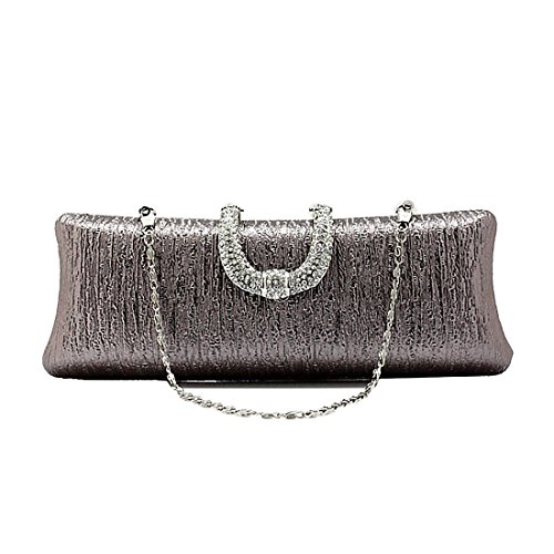 YYW Evening Bag, Poschette giorno donna Mid Grey