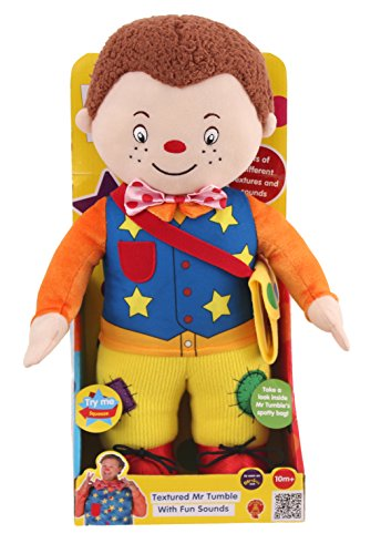 Image of Something Special Textured Mr Tumble Soft Toy with Fun Sounds