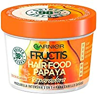 HAIR FOOD papaya mascarilla reparadora 390 ml