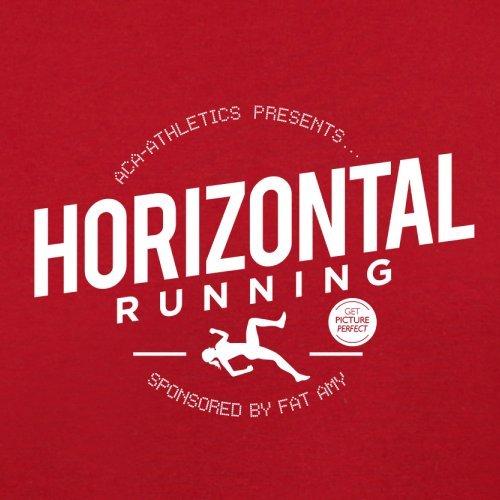 Horizontal Running- Fat Amy - Damen T-Shirt - 14 Farben Rot