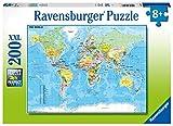 Ravensburger Puzzle - Mappa del Mondo Puzzle 100 XXL, 12890 7