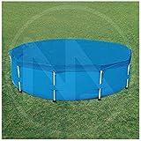 Bache de protection pour piscine ronde tubulaire 4,57mx1,22m 58134