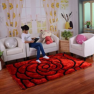Living room carpet 3D encryption carpet living room coffee table carpet sofa bed bedroom blanket carpet