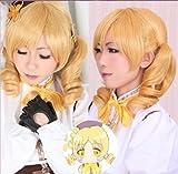 Heat-resistant cosplay wig Magical Girl Madoka Magica Tomoe Mami (Mami) Costume Wig (japan import)