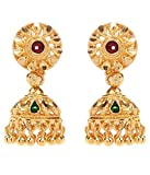 GoldNera Gold Plated Jhumka Earring styl...