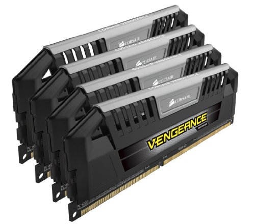 Corsair CMY32GX3M4A1600C9 Vengeance Pro Series 32GB (4x8GB) DDR3 1600Mhz CL9 XMP Performance Desktop Memory