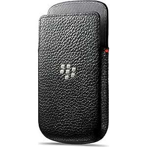 BlackBerry ACC-54681-201 Etui en cuir pour BlackBerry Q5 Noir