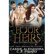 Four Heirs: A Reverse Harem Fantasy (The Rothhaven Trilogy Book 3)