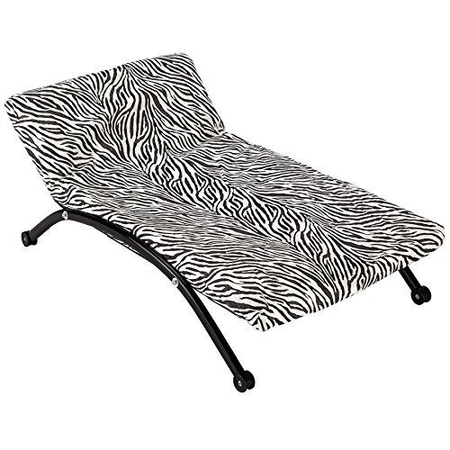 TecTake® Luxus Hunde Lounge Hundebett Hundekissen Hundesofa Schlafbett mit Gestell klein