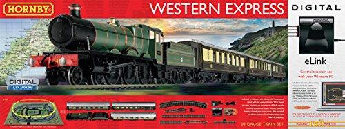 Hornby Western Express Train électrique avec Commande Digitale