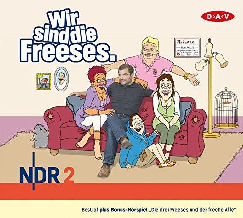 Wir sind die Freeses: Hörspiel (3 CDs)