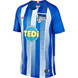 Nike Kinder Hertha BSC Breathe Stadium Home T-Shirt, Hyper Cobalt/White/Speed Red, L