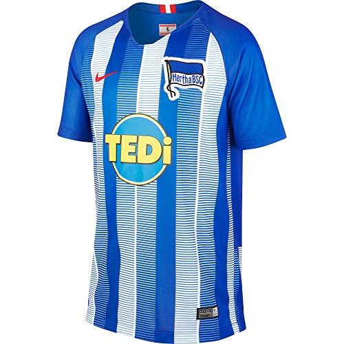 Nike Kinder Hertha BSC Breathe Stadium Home T-Shirt Hyper Cobalt/White/Speed Red L