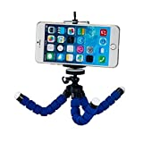 #6: Techlife Brand - Blue Flexible Mini Tripod Stand For Digital Camera & Mobile Phones - High Quality