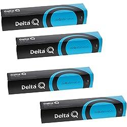 Pack XL 40café descafeinado-Capsules Delta Q-Intensité 1-4x10Capsules Nespresso, deQafeinatus