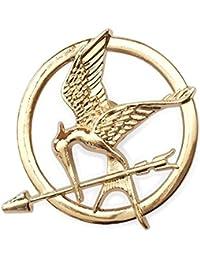 "Broche Vintage ""The Hunger Games Ridicule Bird "" Bronze"